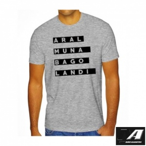 aral_muna_bago_landi_gray_customized_t-shirt
