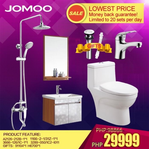 Bathroom Fixtures Philippines jomoo bathroom fixtures set 4